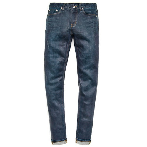 [모디파이드]M#0447 wakefield press coating jeans