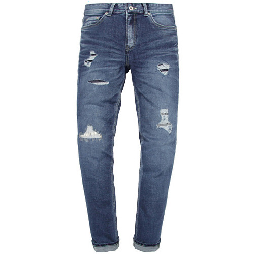 [모디파이드]M#0555 genova patched jeans