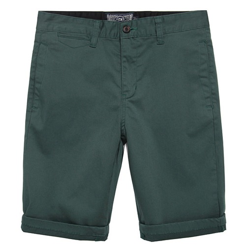[모디파이드]M#0615 cotton short chino pants (deep green)